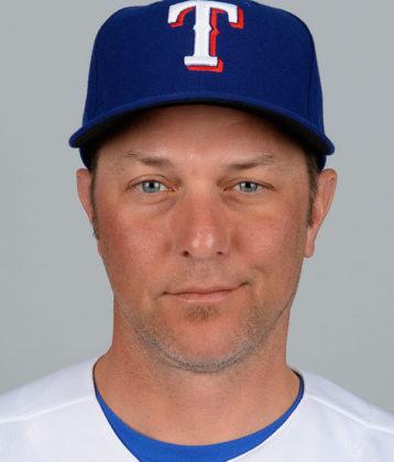 Anthony Iapoce in Texas Rangers uniform