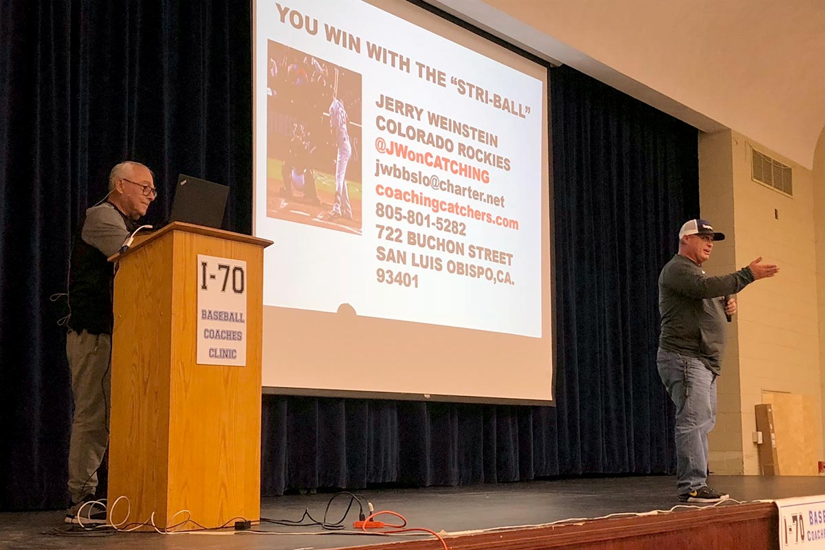 2018 i70 Baseball Clinic Session