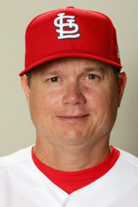 St. Louis Cardinals Manager Mike Shildt